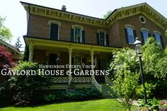 Gaylord House and Gardens, Oswego, Illinois – Hawkinson Events