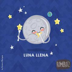 Luna llena - Happy drawings :) http://www.gorditosenlucha.com/ #compartirvideos…