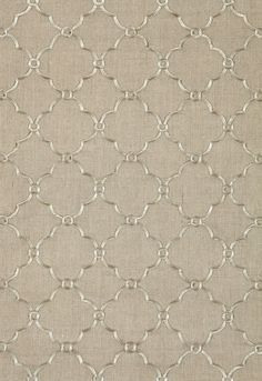 Luxembourg Embroiderie  Fabric | Luxembourg Embroidery in Linen | Schumacher