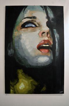 Beatrice oil on canvas 100 x 150