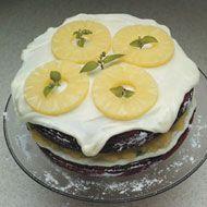 Red Velvet Pineapple Cake