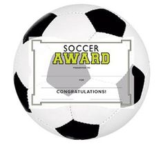 Free printable soccer certificates soccer awards soccer southworth motivations sports certificate awards kit yadclub Choice Image