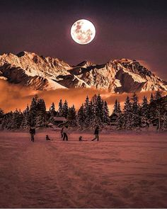 Trendy Photography Landscape Country Dreams Ideas photography is part of Beautiful moon - Landscape Photography Tips, Winter Photography, Nature Photography, Moonlight Photography, Photography Pics, Beautiful Moon, Beautiful World, Beautiful Places, Beautiful Pictures