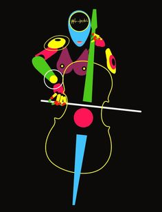 smooth: Violonchelo by ~meganima Cello, Respect, Movie Posters, Minimalist, Smooth, Artists, Design, Music Instruments, Art
