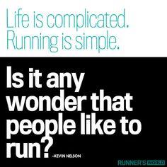 Running is Simple | Runner's World