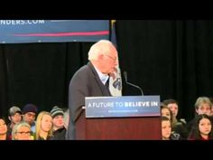 Disabled Woman at Bernie Sanders rally in Falls, Iowa chokes up - LoneWo...  Every American voter needs to see this video!