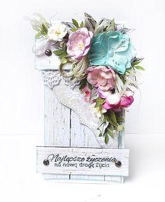 Witajcie ,Kochani!   Hello, Dear!     Sezon ślubny powoli się kończy. Mimo to mam dziś dla Was   zestaw nietypowych kartek ślubnych.   Pi...