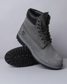 Gray Timberlands Suede❤️