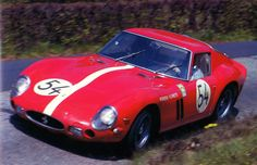 Ferrari 250 GTO (3909GT) of Scuderia Filipinetti driven by Heini Walter and Charles Muller at the '63 Nurburgring 1000km.