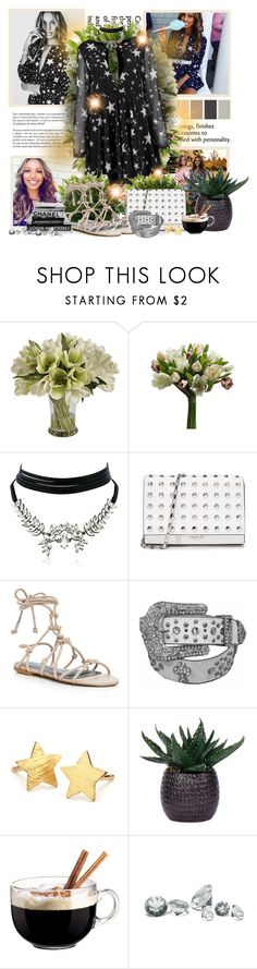 """Jazz"" by sheavschaaf on Polyvore featuring Whiteley, Lumière, Jane Seymour Botanicals, WithChic, Michael Kors, Rebecca Minkoff, Pernille Corydon, Lux-Art Silks, Luminarc and Guide London"
