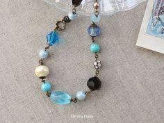 vintage ターコイズ 地中海色のネックレスの画像4枚目