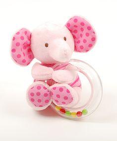 Look at this #zulilyfind! 4.5'' Baby Ring Rattle #zulilyfinds