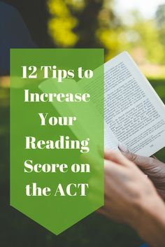 Don't know how to prepare for the Reading section of the ACT? Do passages look like a wall of text to you? Are you a slow reader? Start with these tips. College Test, Grants For College, College School Supplies, Financial Aid For College, College Board, Scholarships For College, Education College, College Planner, School Tips