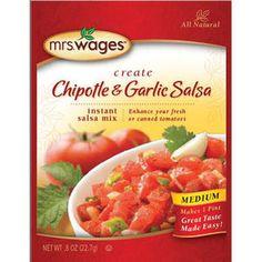 Mrs. Wages Chipotle & Garlic Salsa Mix - Mills Fleet Farm
