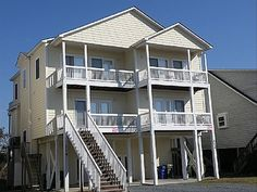 THIS ONE! Townhome vacation rental in North Topsail Beach from VRBO.com! #vacation #rental #travel #vrbo