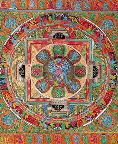 Mandala de Chakrasamvara