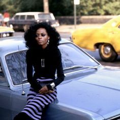 Photo credit Lawrence Shilling/Getty: from the Daily Telegraph: Diana Ross in New York in 1970