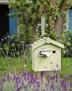 DIY letterbox / brievenbus bloemen zelfmaken