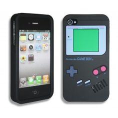iPhone 4(S) Hoesje Nintendo Zwart. Gratis bestellen. Gratis iPhone hoesje