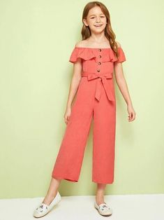 Gowns For Girls, Dresses Kids Girl, Kids Outfits Girls, Cute Comfy Outfits, Cute Girl Outfits, Jumpsuits For Girls, Chor, Tween Fashion, Sweet Dress