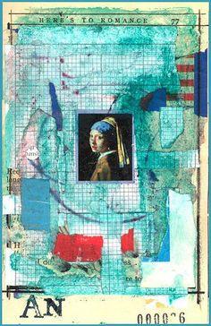 """pearl two, via Flickr.  (Vermeer painting""""  by Art Naphro"""