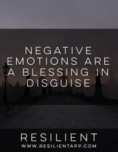 They make us feel awful, but here's why negative emotions are actually a blessing in disguise.