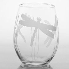 Dragonfly Red Wine Tumbler (Set of 4)