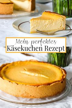 Mein perfektes Käsekuchen Rezept – Kuchenklassiker Rezept… My perfect cheesecake recipe – cake classic Recipe: My perfect cheesecake recipe. Perfect Cheesecake Recipe, Baked Cheesecake Recipe, Classic Cheesecake, Easy Cake Recipes, Healthy Dessert Recipes, Cookie Recipes, Dirt Cake, Easy Easter Desserts, Easter Recipes