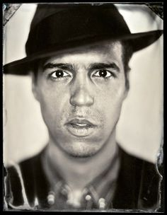 Tintype Portraits Photography by Michael Shindler 5