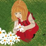 Niña recolectando flores, #dibujos #dibujosgraficos #dibujosgraficosinfantiles, #dibujosgraficosniños,  #graficos #infantiles, #niños, #dibujosinfantiles, #dibujosniños,  http://www.dibujosgraficos.me-design.es