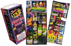 Sparklers and fountains ignite evening fun and high-powered fireworks allow purchasers to put on a larger show Fireworks Box, Firework Stands, Fireworks Pictures, Package Deal, Sparklers, 4th Of July, Coupons, Shells, Packaging