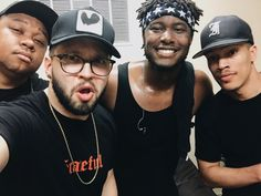 All my faves (besides NF, he's missing from this golden pic)!!!!!! Tedashii, Andy, KB and Trip Lee.