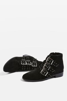 85295271a KROWN Studded Boots - Flats - Shoes - Topshop Boho Fashion Fall, Fall  Winter Shoes