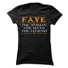 FAYE ... LEGEND COOOL Shirt!!!