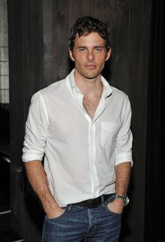 Pin for Later: 32 Times James Marsden Looked Drop-Dead, Disney-Prince Hot When a White Button-Down Really Worked For Him