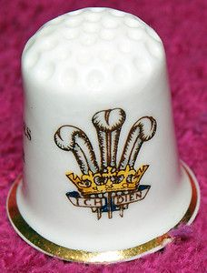 Vintage Royal Wedding – Charles and Diana – Commemorative Porcelain Thimble
