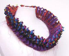 patternprints journal: PATTERNS AND PRINTS INTO TEXTILE JEWELS BY LUIS ACOSTA