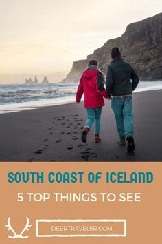 South Coast of Iceland / Top things to see on a road trip   - deertraveler.com  #iceland #travelblog #travel #visiticeland #traveliceland #europe #blacksand #roadtrip #backpacker
