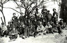 Brazilian soldiers at Montese - Italy