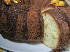 Cake de naranja, receta fácil