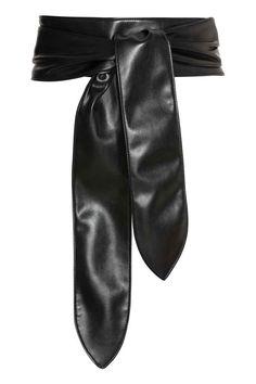 Chaussures femme en cuir souple Large Self Tie Wrap Around OBI Taille élastique Robe Boho Ceinture