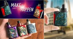 The newest starter kit-good choice for new vapers! Built-in tank & built-in battery portable device, which offers you easy operation and great convenience.