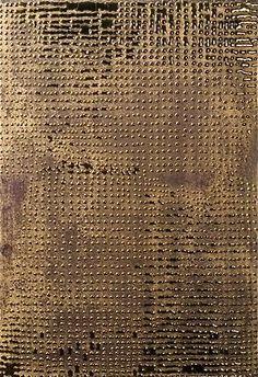 Otto Piene, Gold Rush, 2006
