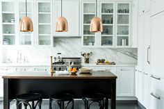 Organic Kitchen in New York, NY by Katie Martinez Design