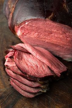 """How to smoke a deer ham to make the best """"roast beef"""" you've ever had. Recipe and method by Hunter Angler Gardener Cook. via Hunter Angler Gardener Cook Smoked Venison Roast Recipe, Cooking Venison Steaks, Best Roast Beef, Venison Recipes, Hamburger Meat Recipes, Roast Recipes, Venison Meals, Venison Stew"""