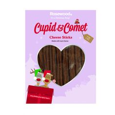 Cupid & Comet Cheese Sticks Cat Treats The Pet Warehouse Christmas Gift For You, Christmas Cats, Christmas Presents, Cat Treats, Cupid, Your Pet, Pets, Xmas Presents