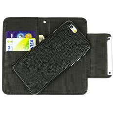 Ranboo Separable PU Leather Wallet Case Detachable Protective Case with Credit Card Slot &Money Pocket For Apple iphone 6 Plus 5.5 inch (Black):Amazon:Cell Phones & Accessories
