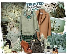 """""""Frosted Wonderland"""" by molnijax on Polyvore"""