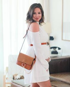 Inspiração Look Gestante - Vestido Branco | Juliana Goes