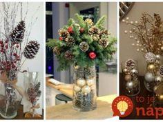 Tieto Kytice vám tak ľahko nezvädnú: 19 úžasných nápadov, ktoré vás budú tešiť celý advent! Christmas Wreaths, Christmas Tree, Advent, Holiday Decor, Home Decor, Manualidades, Teal Christmas Tree, Decoration Home, Room Decor